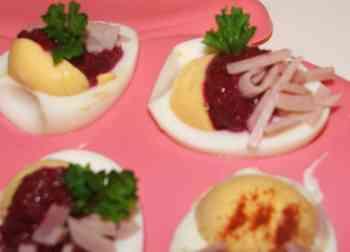 Gef llte eier - Gekochte eier dekorieren ...