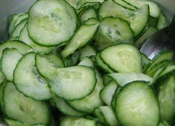 ... hungarian salad recipes al s famous hungarian cucumber salad from